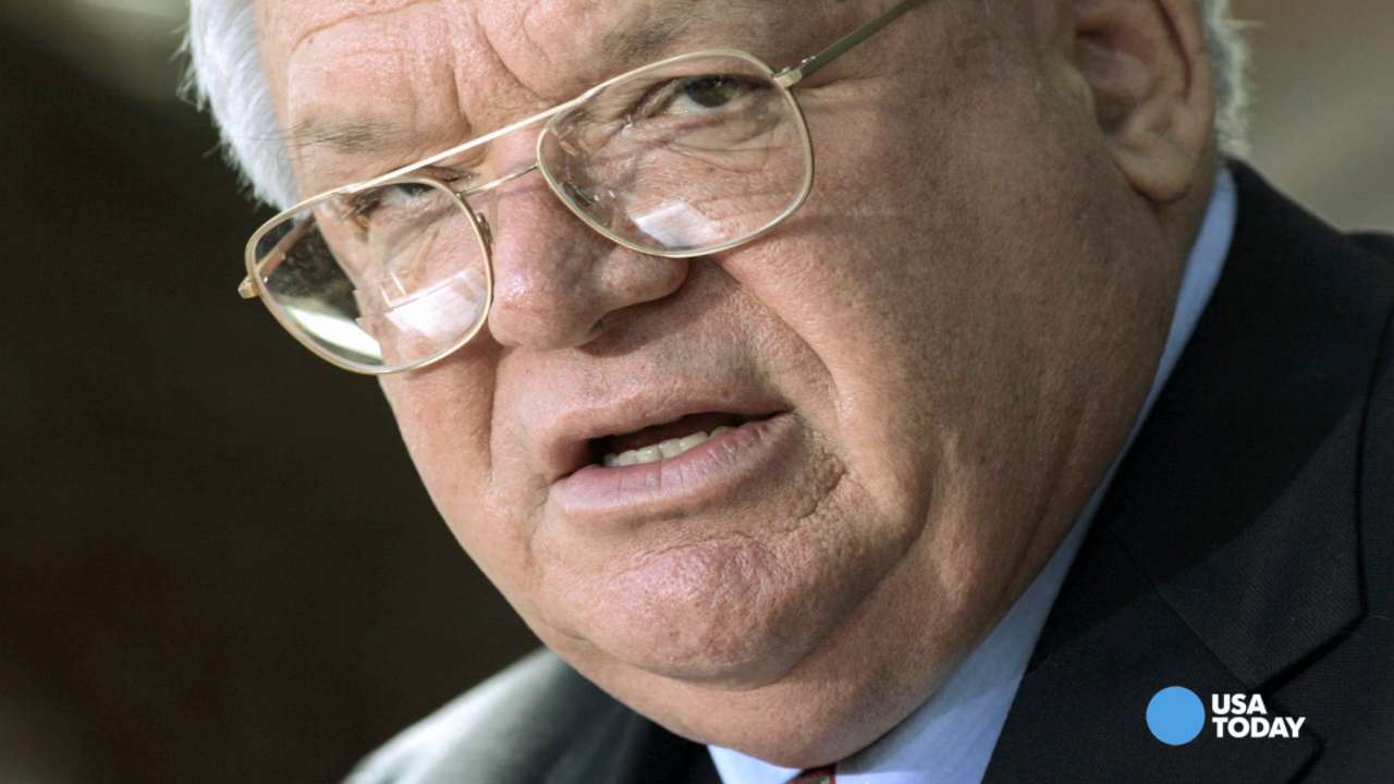 Dennis Hastert's name stripped from public policy center
