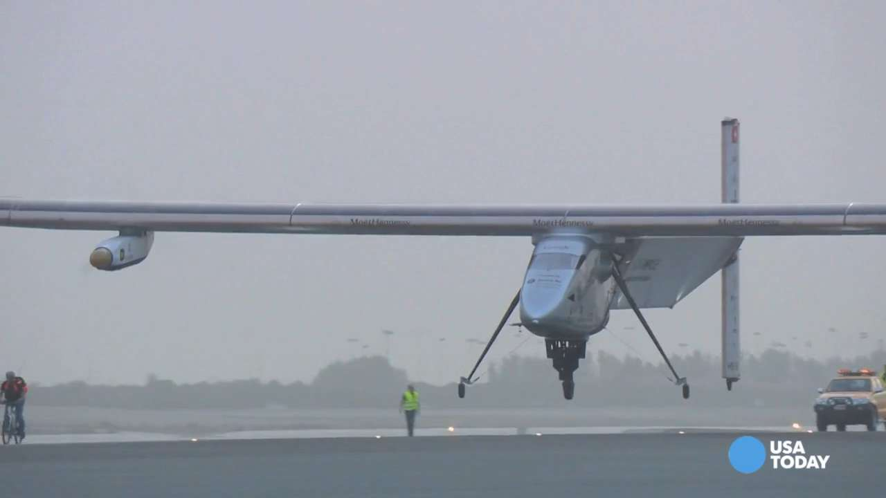 Solar Impulse plane to land in Japan due to bad weather