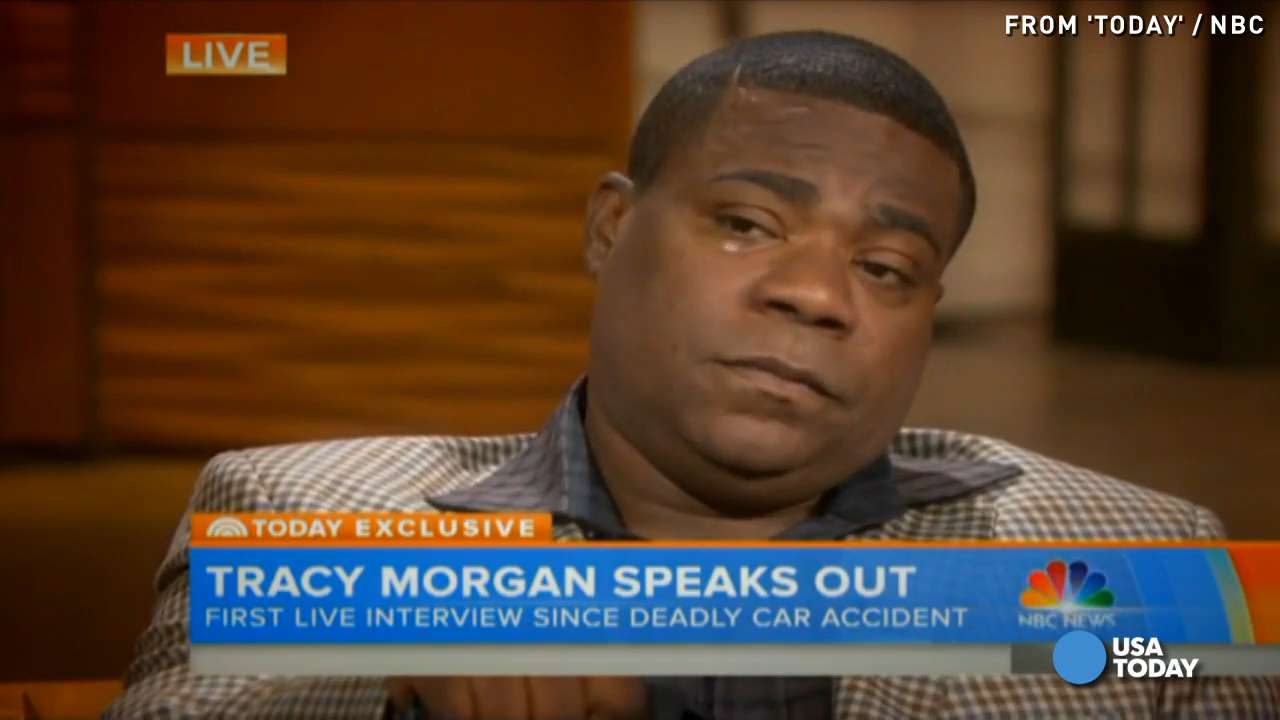 Tracy Morgan opens up for first time since crash