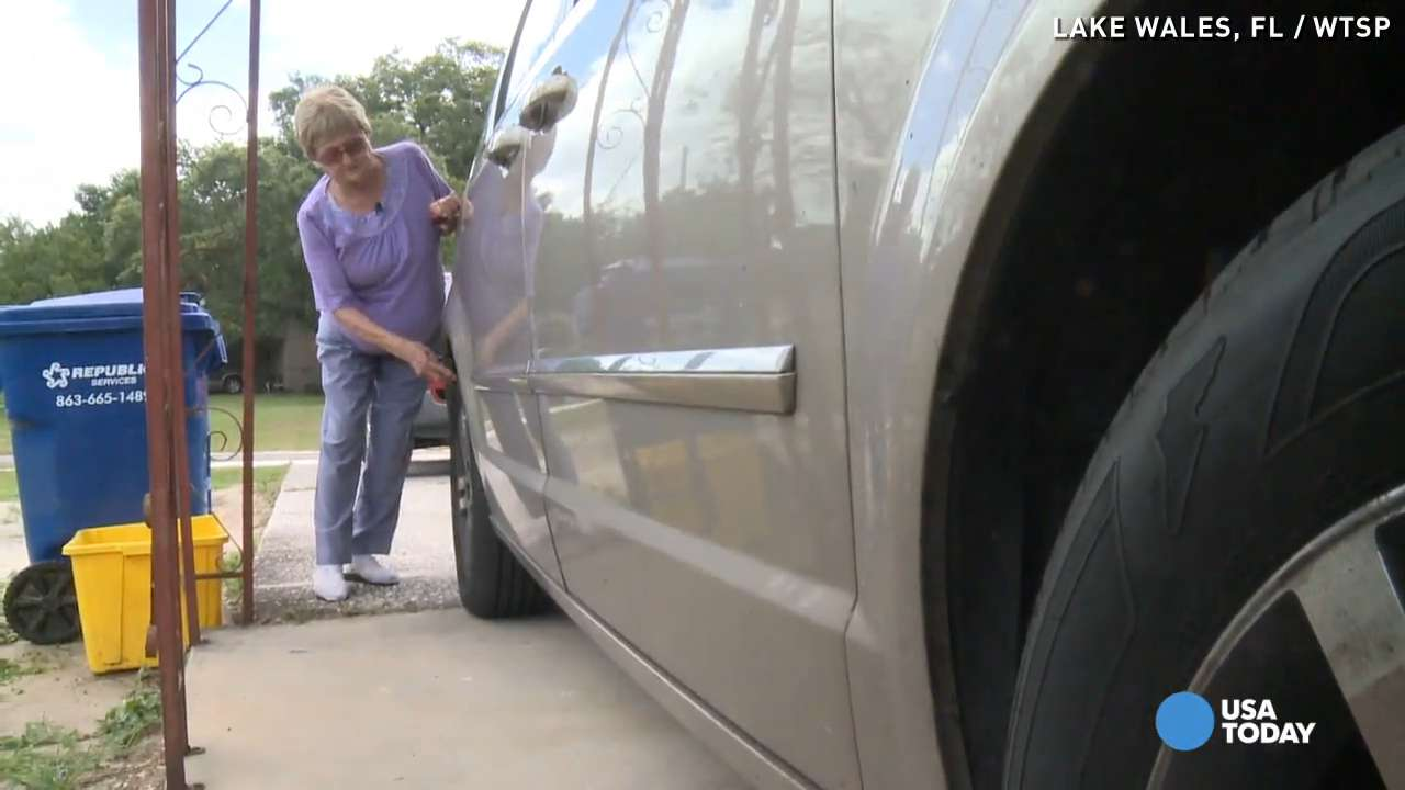 88-year-old's tires slashed over Bingo beef