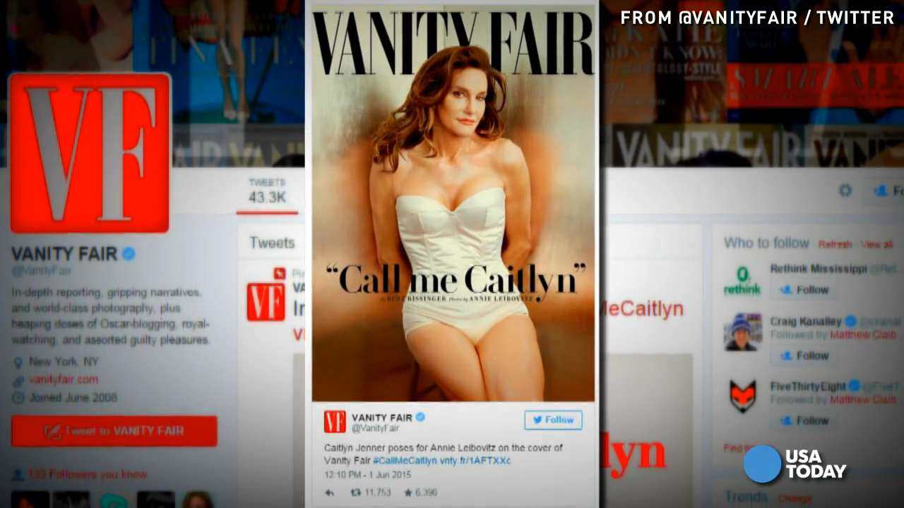 Caitlyn Jenner, formerly Bruce, poses for 'Vanity Fair'