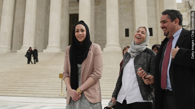 Abercrombie's headscarf policy struck down by supreme court