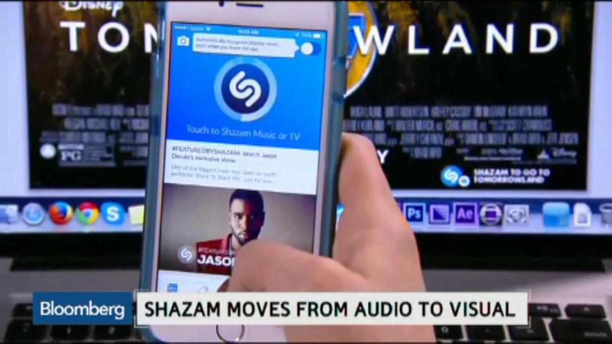 Shazam makes the move from audio to visual