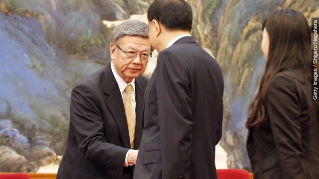 Okinawa governor is on a quest to stop U.S. base