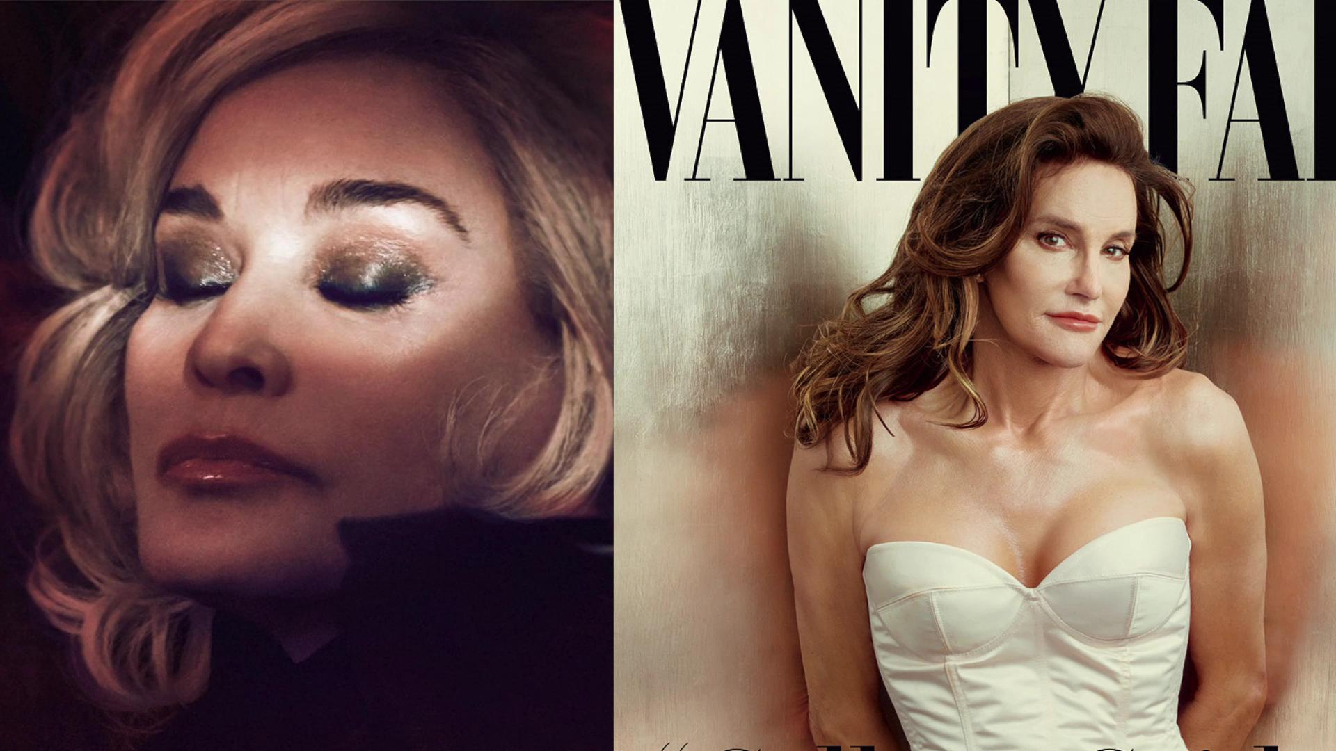 Jessica Lange calls Caitlyn Jenner comparisons 'wonderful'