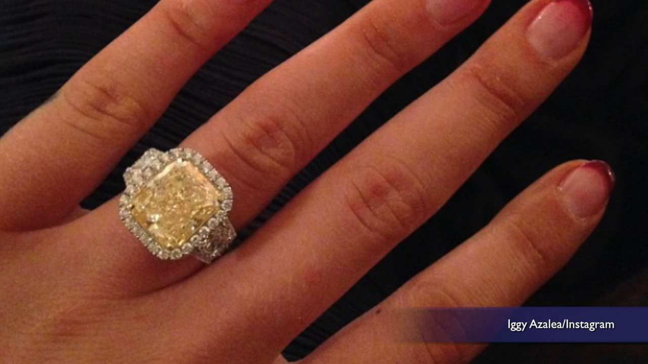 Check out Iggy Azalea's stunning engagement ring