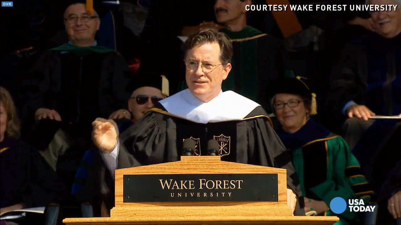 2015's funniest commencement jokes in under 2 minutes