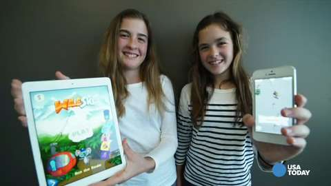 8th-grade sisters know more code than most adults