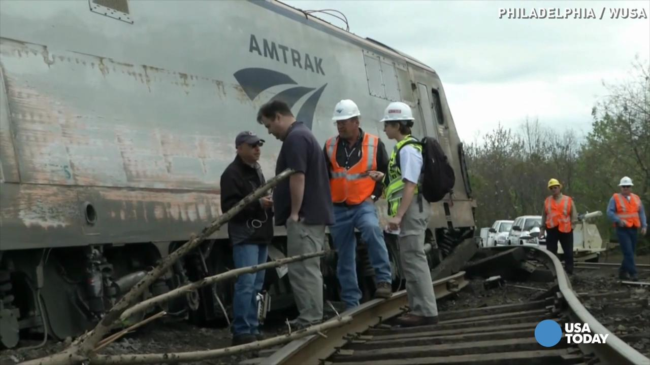 NTSB report on Philadelphia Amtrak train derailment released