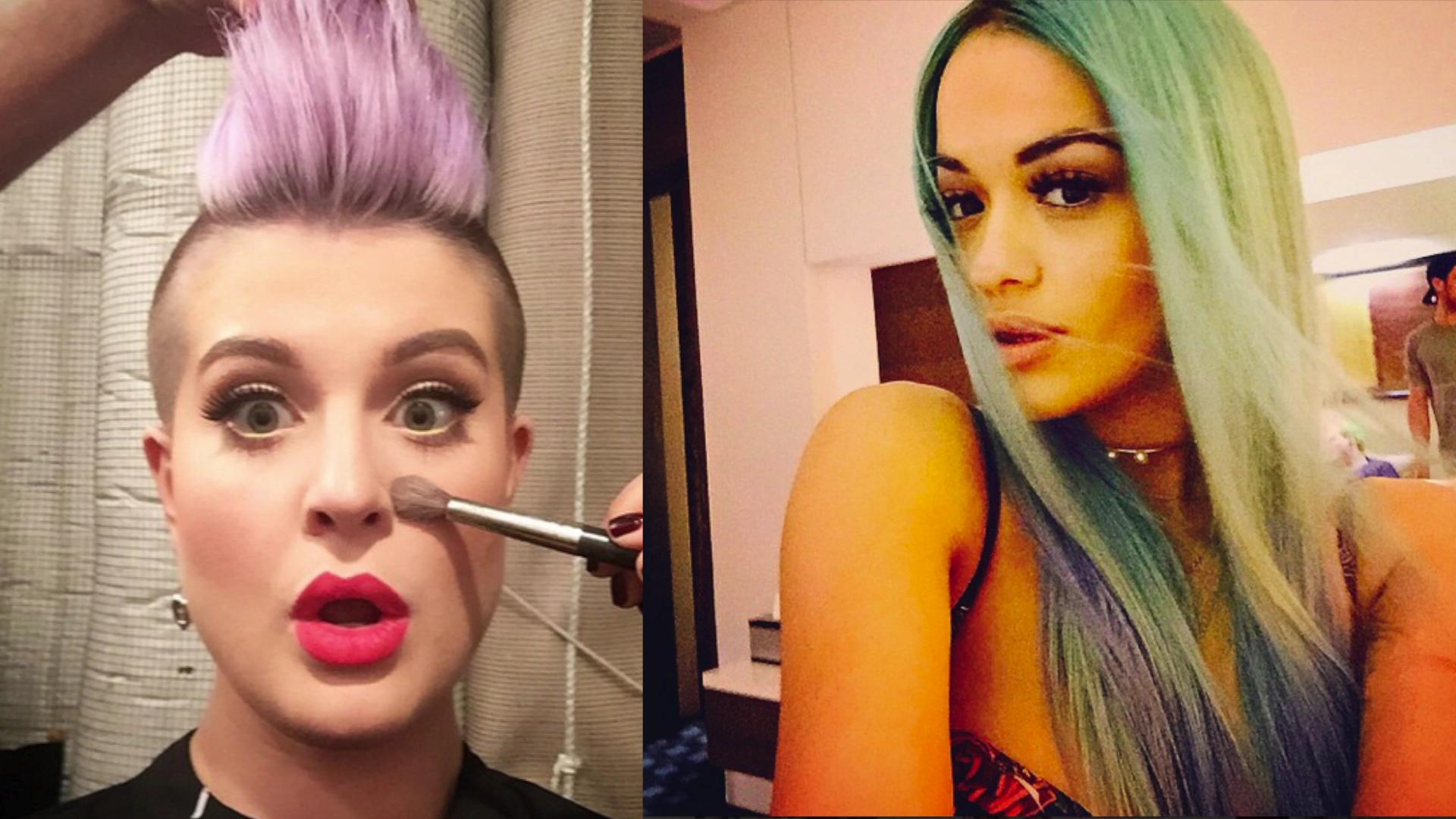 Wackiest and most exotic celebrity hairstyles