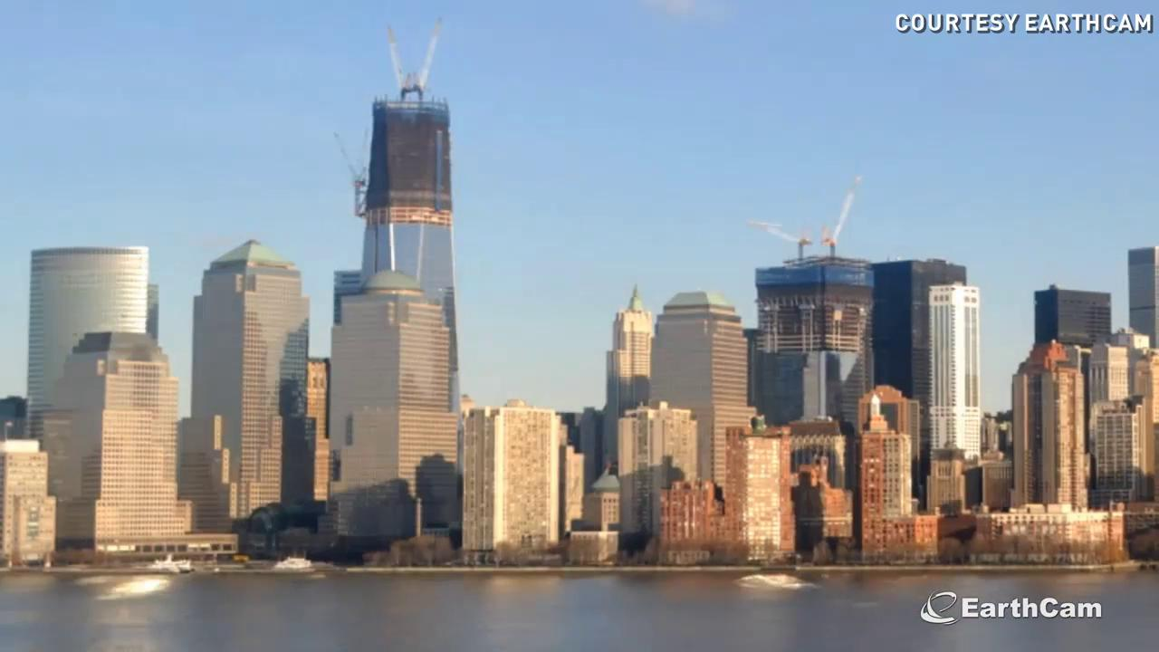 Watch 11 years of One WTC construction in 2 minutes