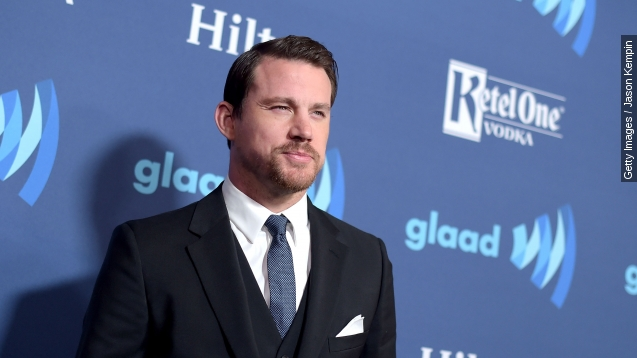 Channing Tatum twerks as old man for 'Magic Mike XXL' prank
