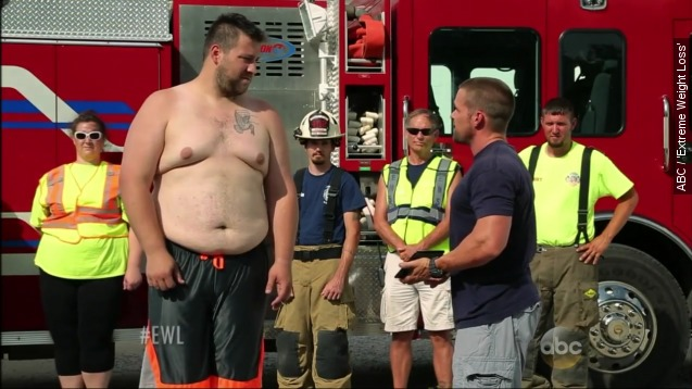EMT fights through tragedy to lose 150 pounds
