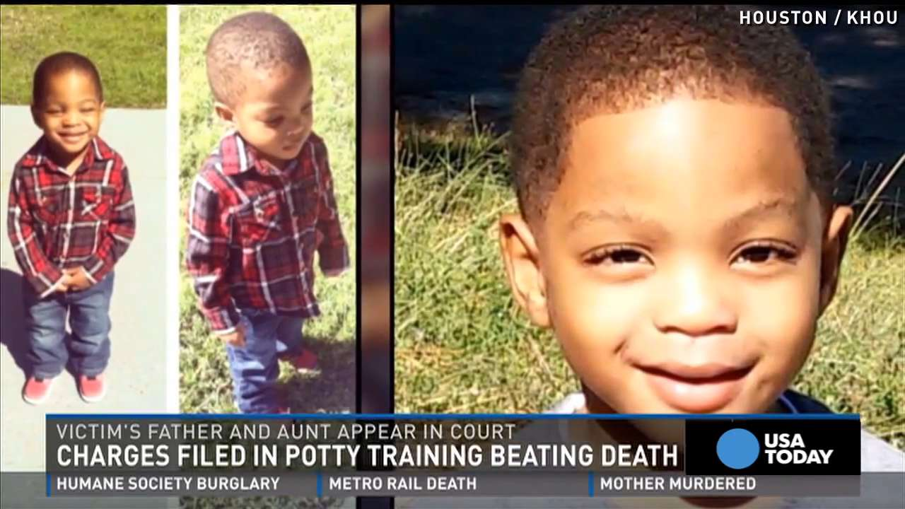 3-year-old beaten to death for not being 'potty trained'