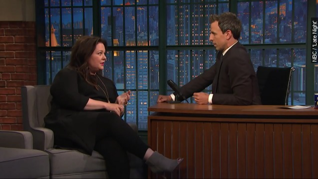 Melissa McCarthy hurt herself in the most ridiculous way