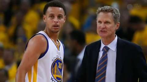 How Curry and Kerr's relationship has helped Warriors