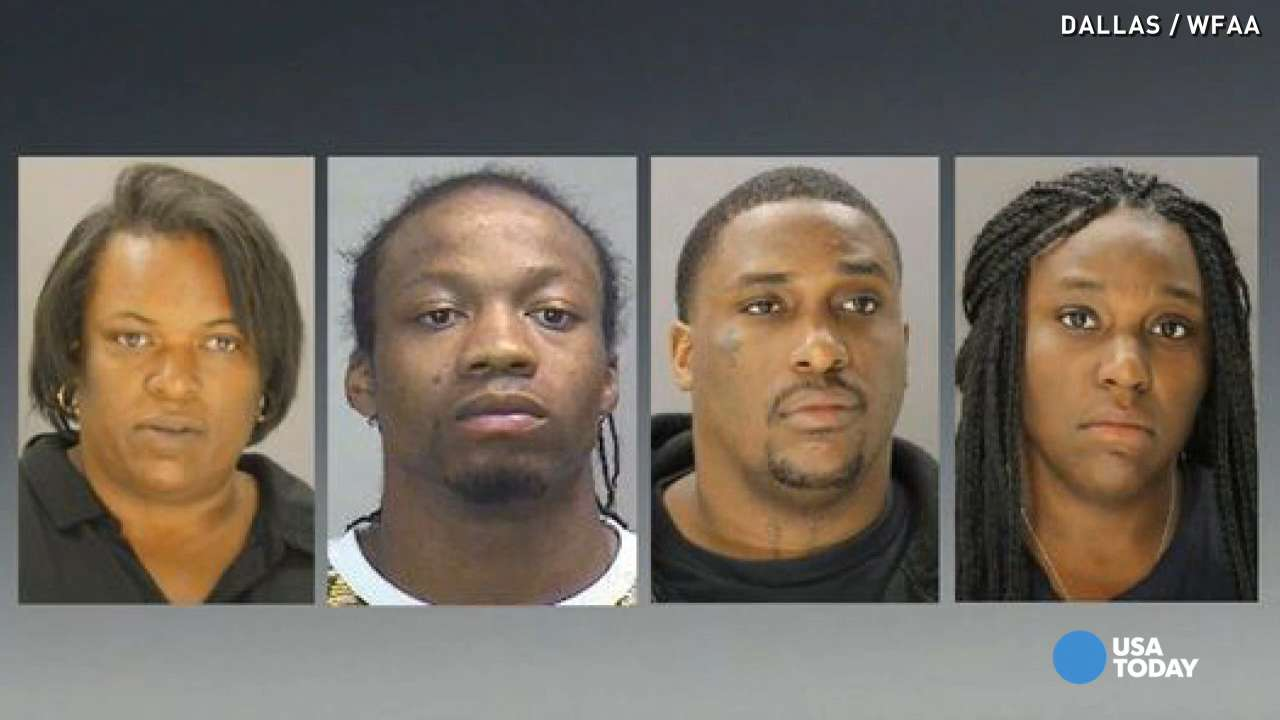 4 arrested for beating teen to trigger abortion
