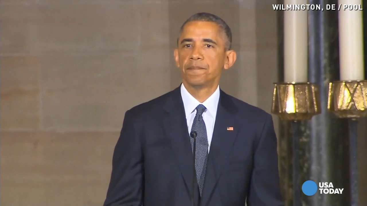 Obama: Beau Biden made you want to be a better person