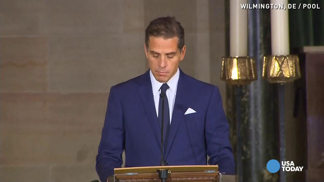 Beau Biden's brother, sister tearfully say goodbye