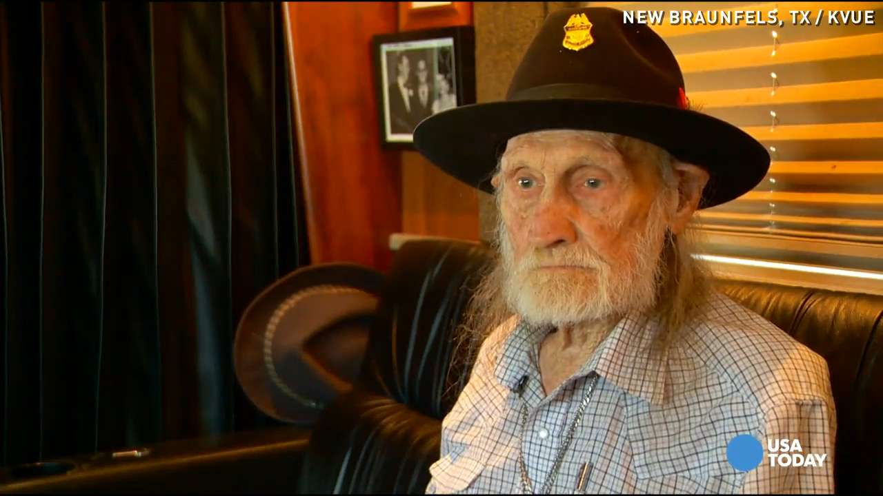 Meet Willie Nelson's 90-year-old roadie