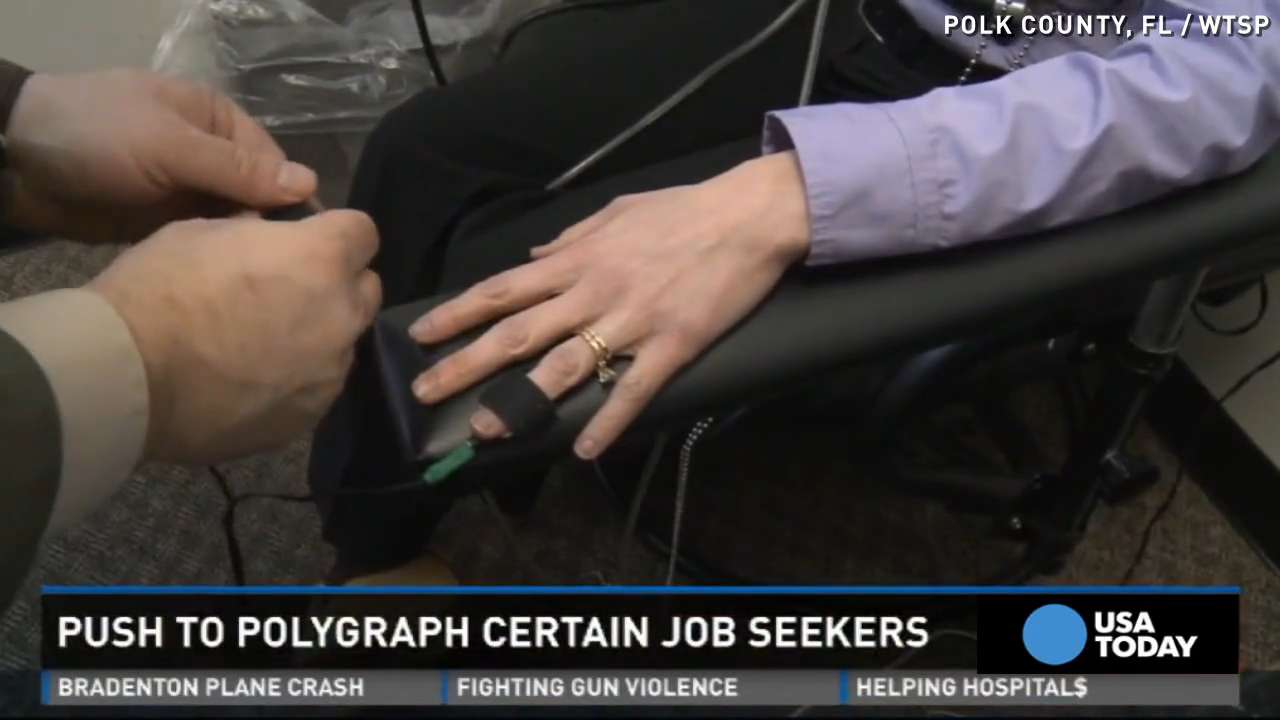 Polygraph test for a job? Legislators push for new law