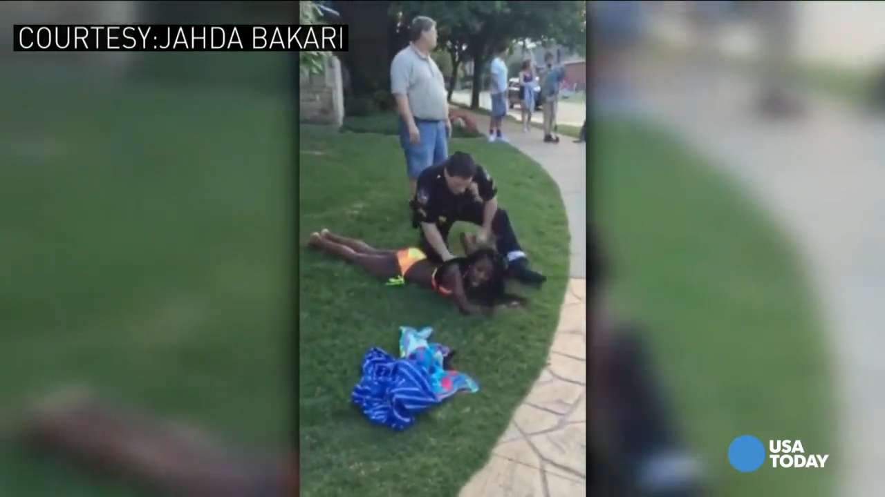 Video shows new angle of texas pool party incident for Pool show usa
