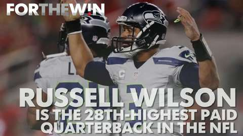 Meet the 27 QBs who make more than Russell Wilson