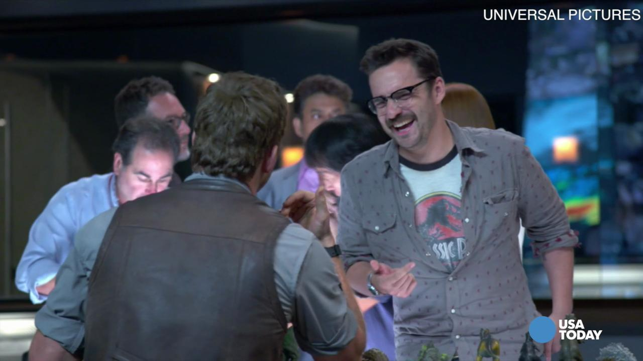 'Jurassic World' premiere: Actor based movie character on a friend
