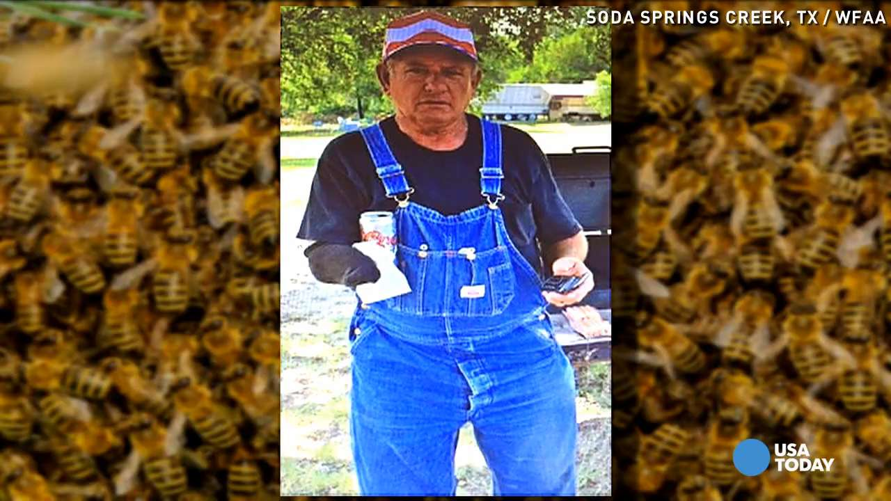 Bee swarm kills man mowing neighbor's grass