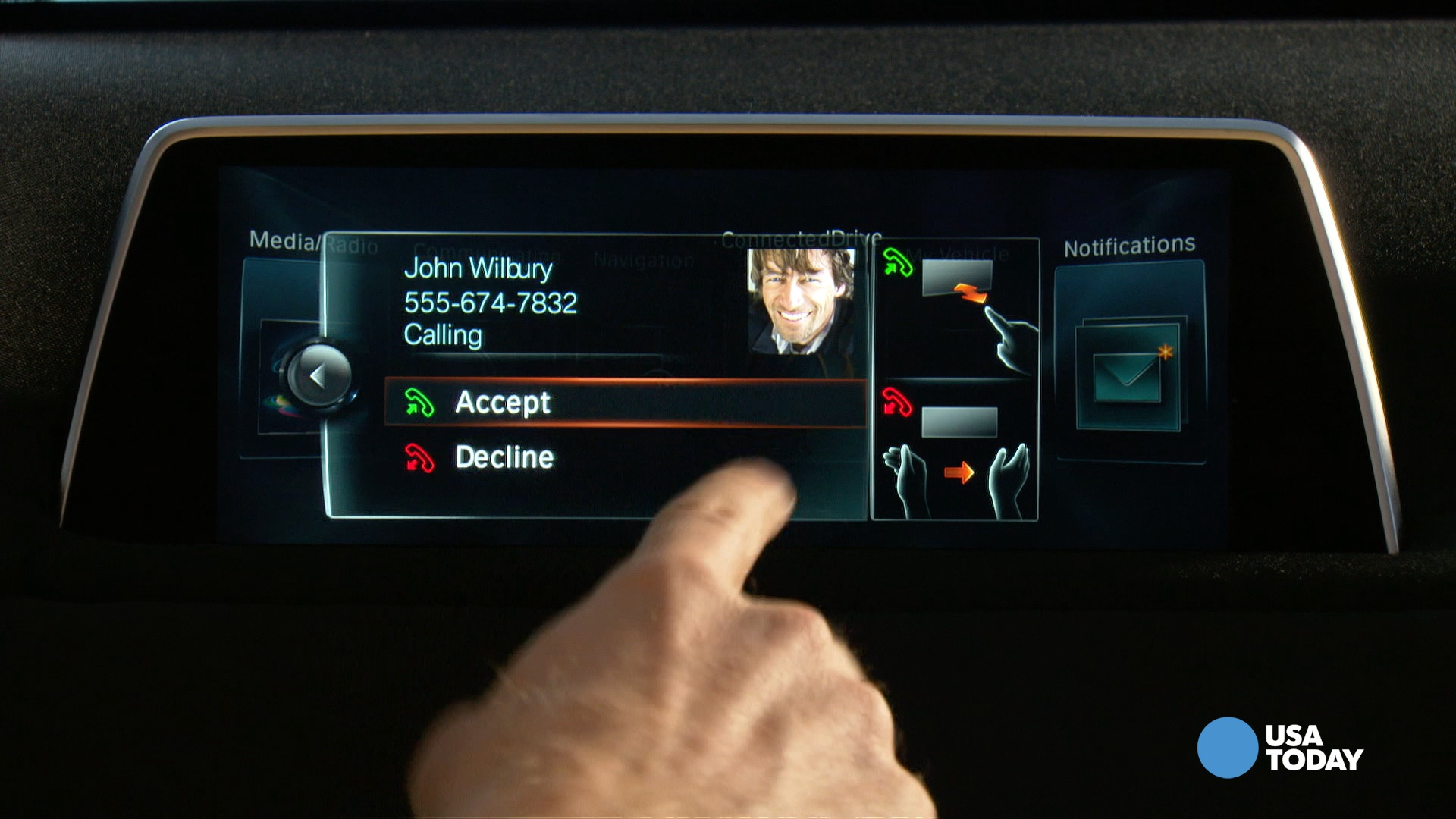 New BMW can be controlled with hand gestures