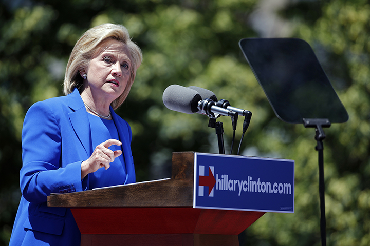 Hillary Clinton gets personal