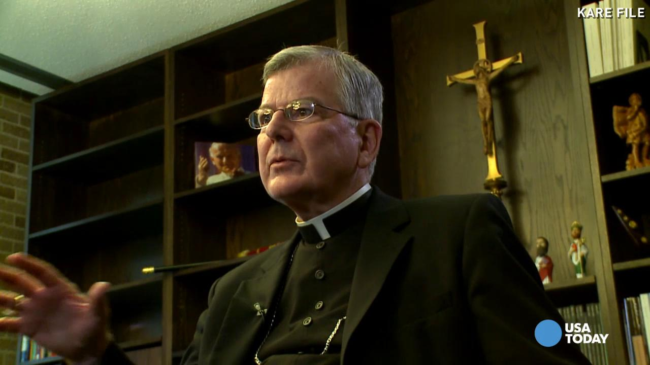 Minnesota archbishop resigns amid coverup charges