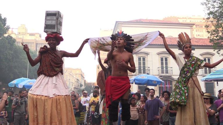 Rio festival against lowering age of criminal responsibility