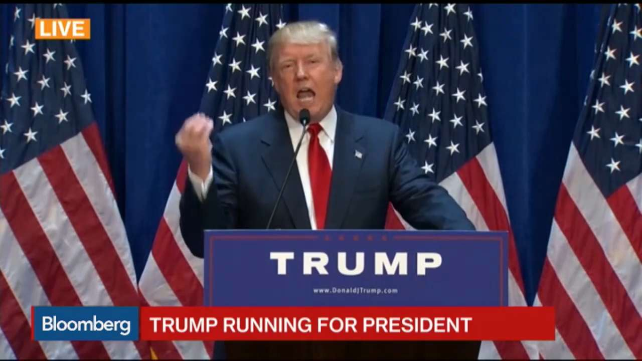Donald Trump announces his 2016 bid in crowded field