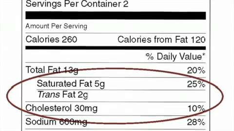 FDA to phase out transfats