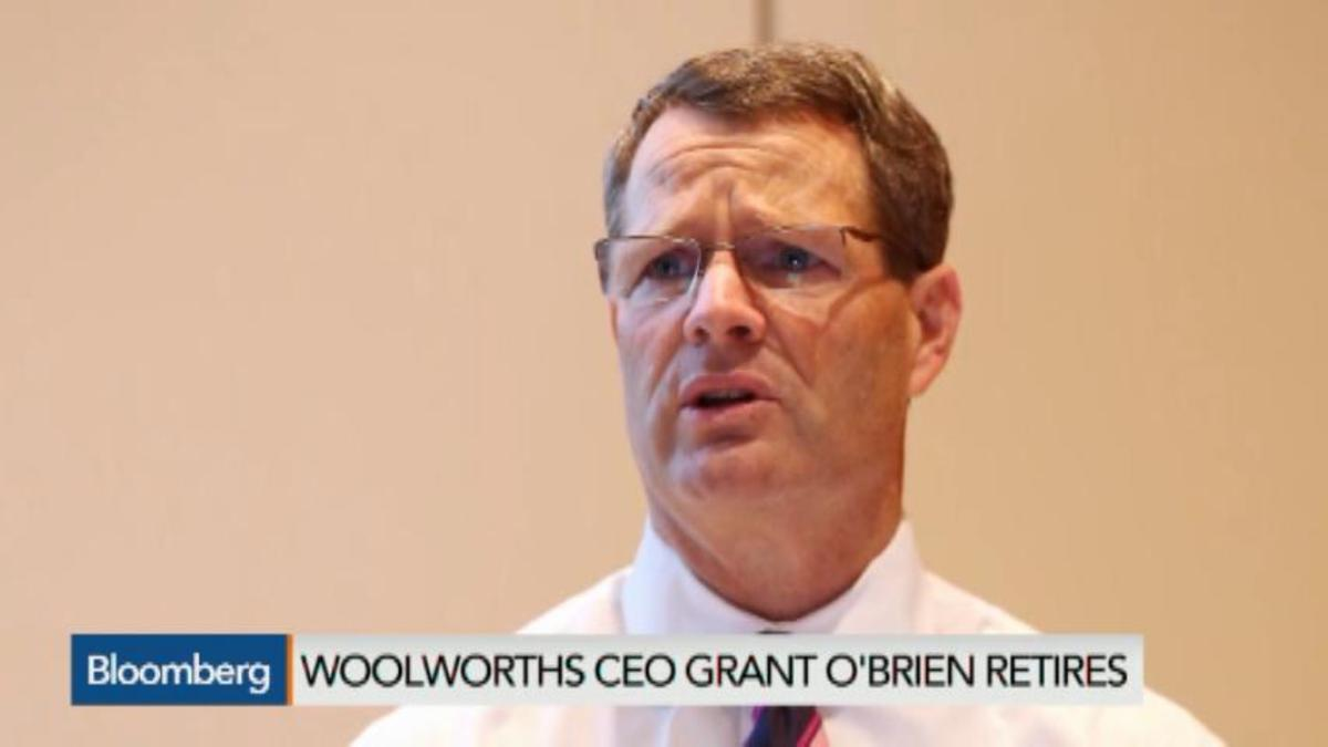 Woolworths CEO O'Brien Retires as Growth Plans Disappoint