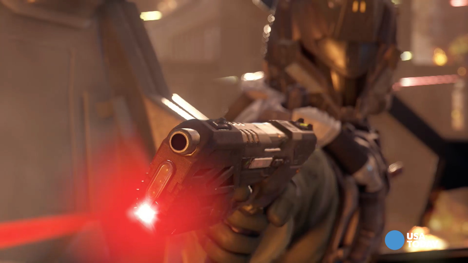 Treyarch studio head Mark Lamia talks with USA TODAY's Mike Snider about what players can expect in the gameplay of Call of Duty Black Ops 3 at the E3 2015 Conference.