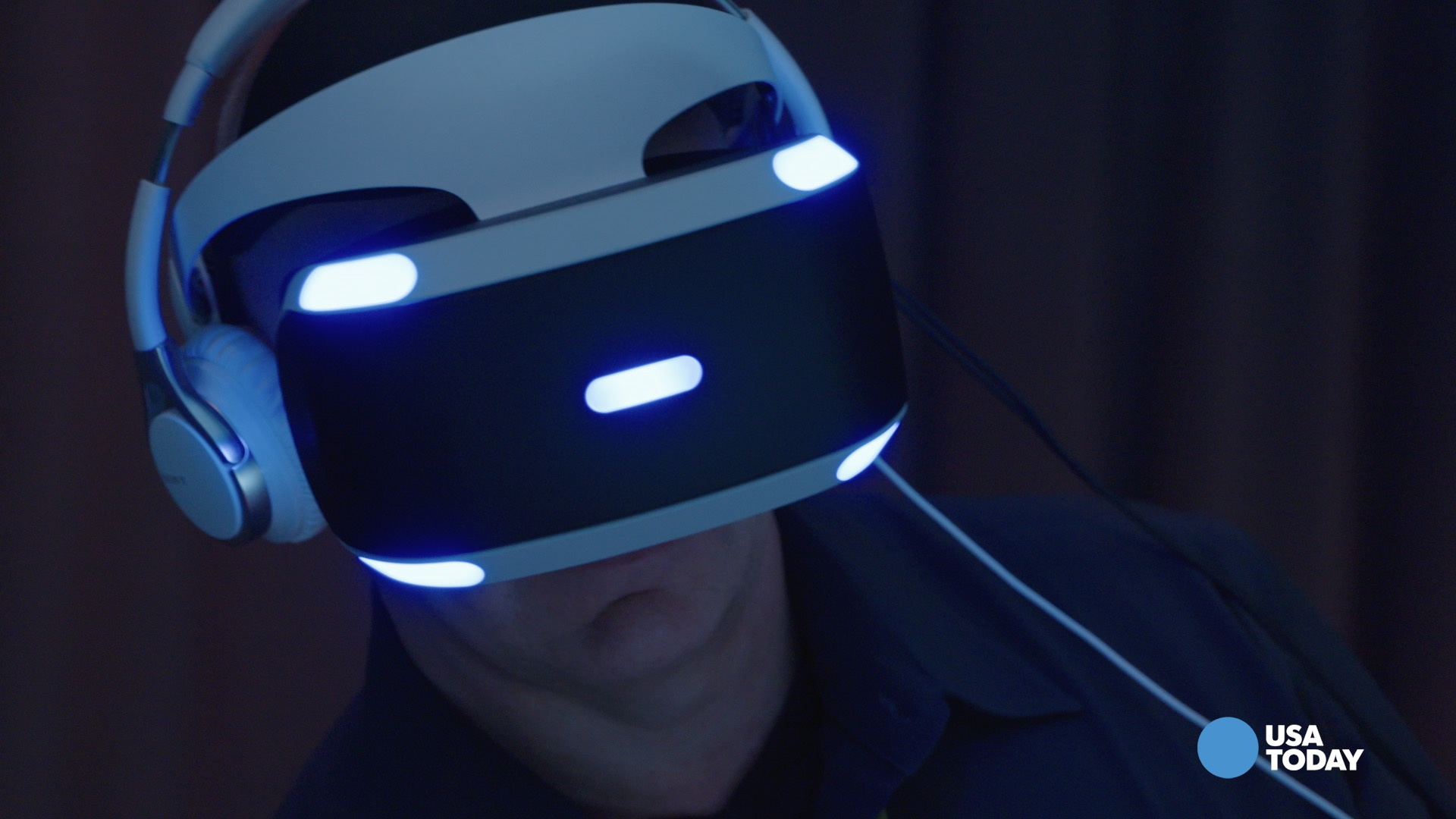 Sony's Magic Lab head Richard Marks talks to USA TODAY's Mike Snider about the different tye of games Sony is testing out for it's VR headset, Project Morpheus.