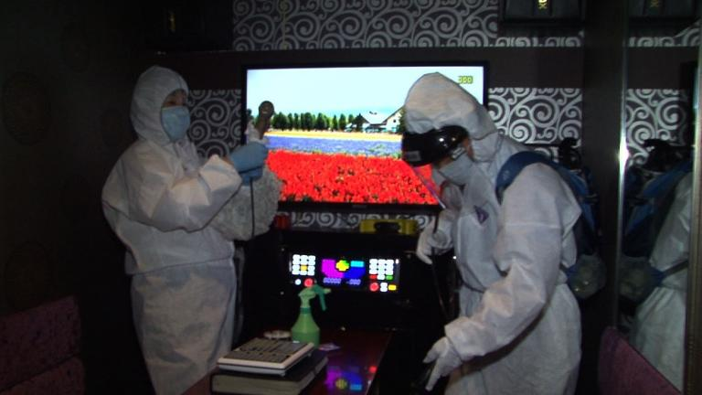 Massive disinfection campaign in South Korea to fight MERS