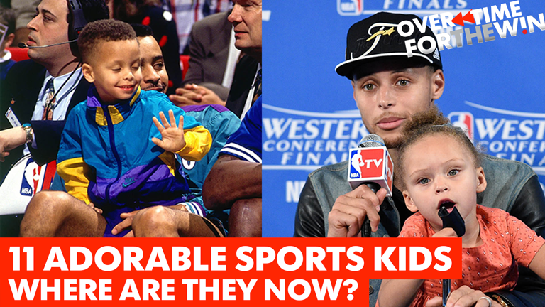 11 adorable sports kids of the past, including Steph Curry
