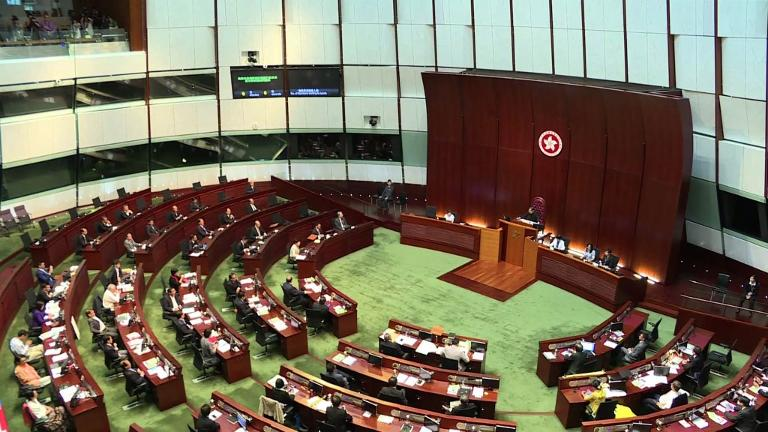 Hong Kong lawmakers reject Beijing-backed reform package