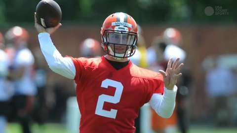 NFL Daily Blitz: Manziel says rookie season was 'disaster'