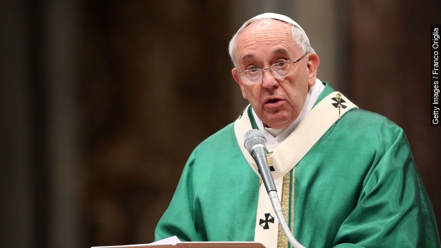 Pope steers Church focus to climate change with encyclical