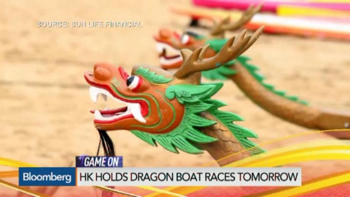 Dragon boats descend on HK for annual festival