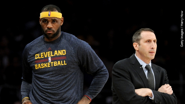 Did LeBron Bully David Blatt? some reporters think so