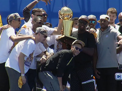 Oakland Celebrates Warriors Win