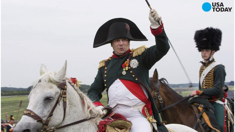 Marking the 200th Anniversary of the Battle of Waterloo; where Europe FINALLY beat Napoleon Bonaparte, people all over Europe found it to be an opportune moment in dressing up like it was 1812 again.
