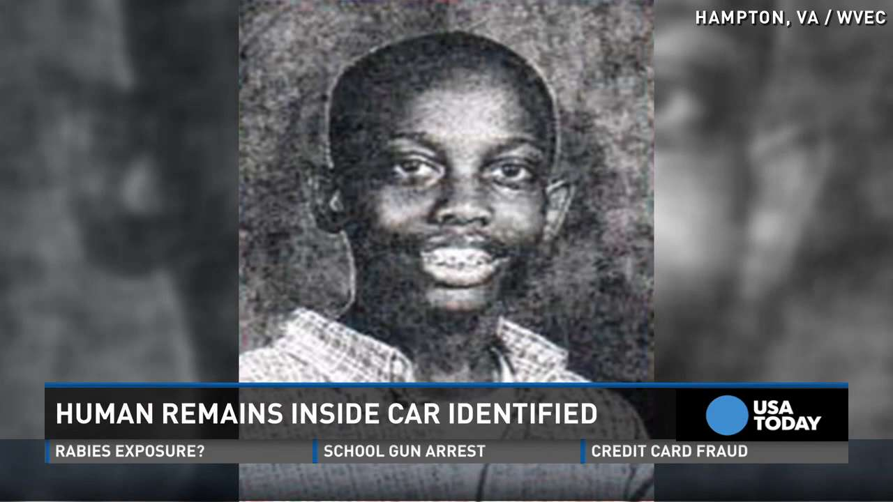 Remains of missing boy found in trunk of mother's car