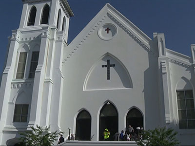 1st Church Service Held after Bible Study Attack