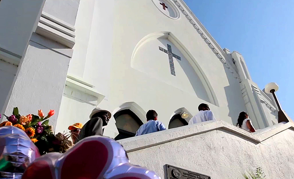 Church's message of hope rings out in Charleston